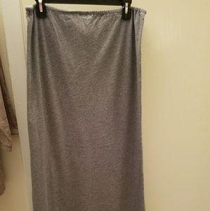 J Crew Cotton Maxi Skirt